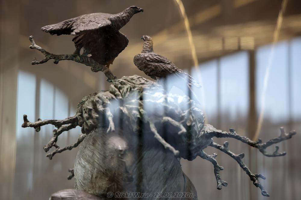 """1. Бестиарий Дарвиновского музея на Воробьёвых горах """"Орлиное гнездо"""" © NickFW.ru - 22.02.2020г."""