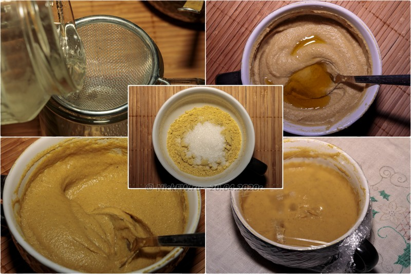 3. Горчица домашняя - поцесс приготовления © NickFW.ru - 20.04.2020г.