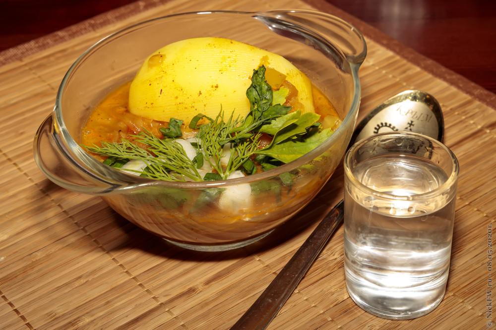 11. Бигос с индейкой и картошкой - подаём к столу с водочкой! © NickFW. ru - 08.05.2020г.