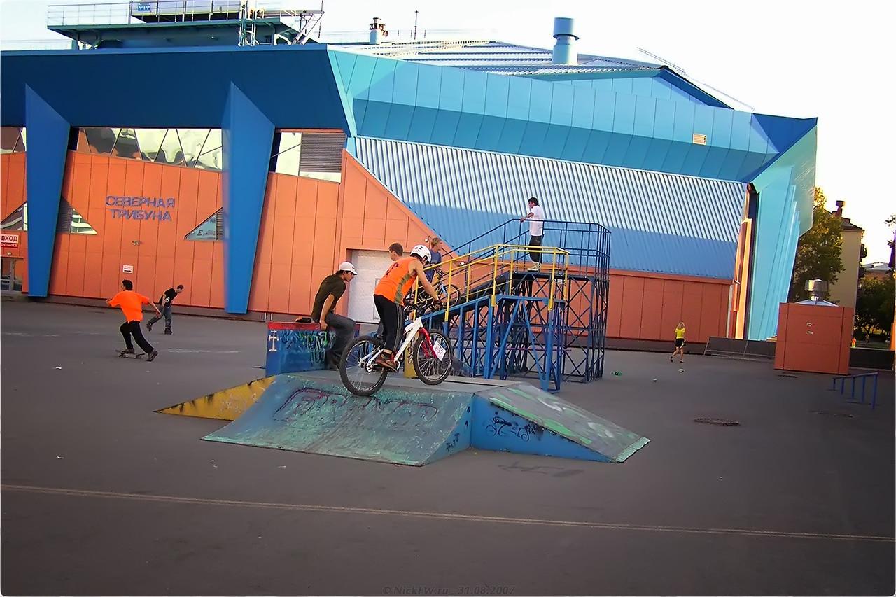 Ролледром стадиона Химик [© NickFW - 31.08.2007]