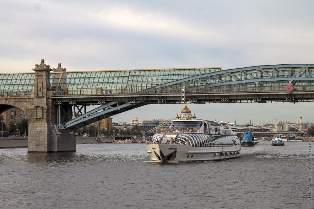 8. Москва река и теплоходы © NickFW.ru - 26.08.2019г.