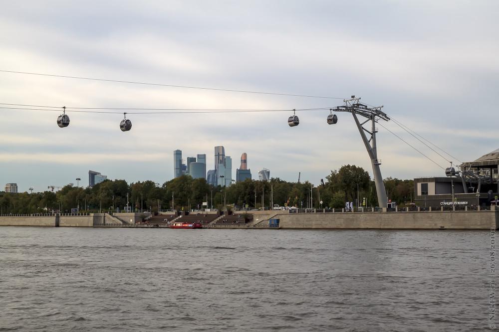 6. Москва-сити, Канатка, Лужники © NickFW.ru - 26.08.2019г.
