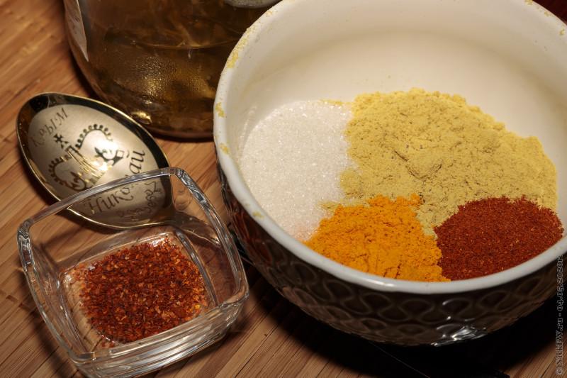 3. Ингредиенты к горчице © NickFW.ru - 04.05.2020г.