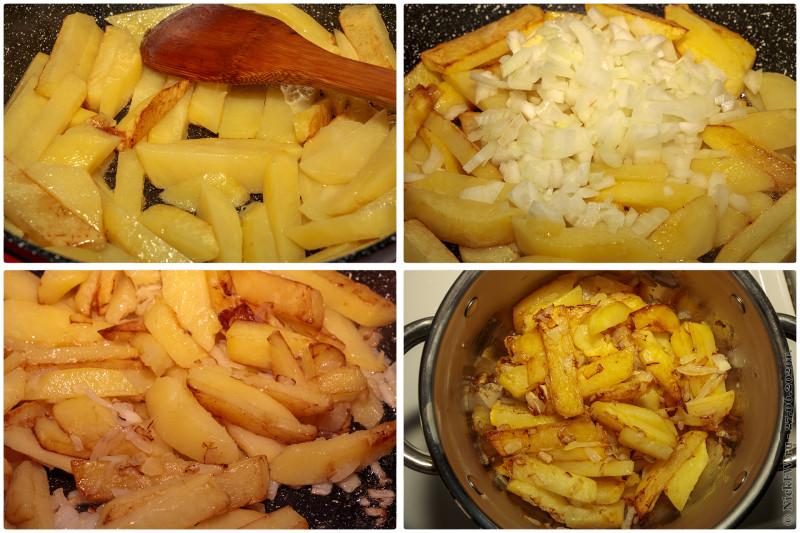4. Азу по-татарски - жарка картошки © NickFW.ru - 27.06.2020г.