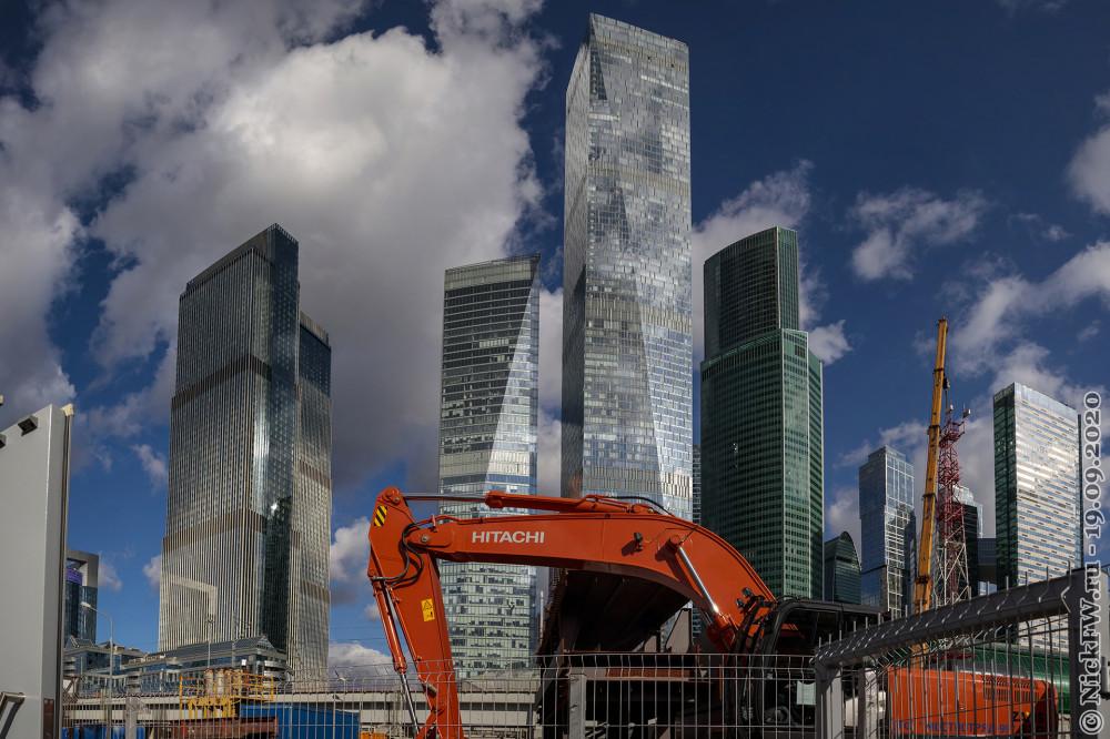 3. Москва-Сити вид со стороны МЦК - панорама © NickFW.ru - 19.09.2020г.