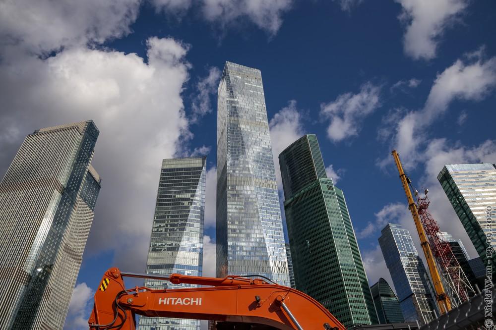 1. Москва-Сити вид со стороны МЦК © NickFW.ru - 19.09.2020г.