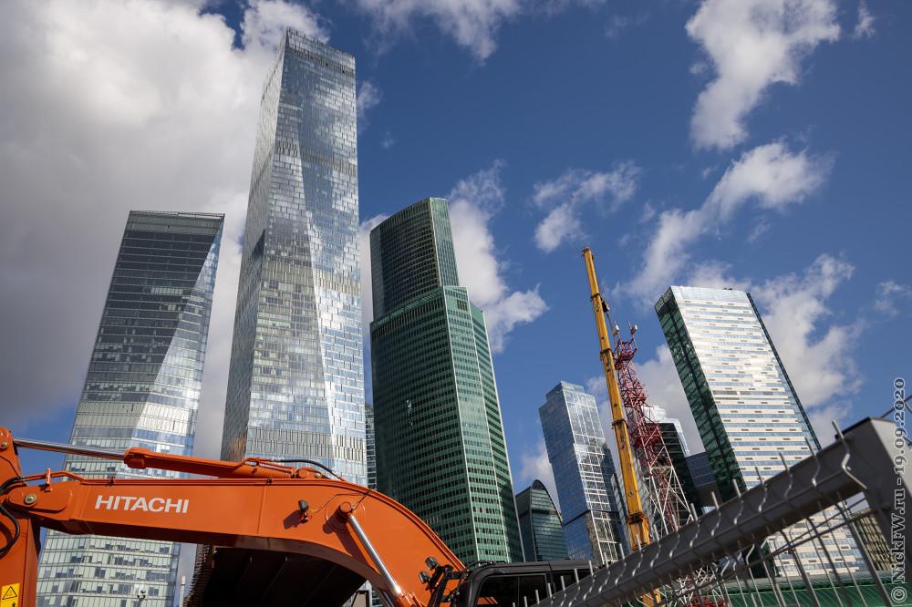 2. Москва-Сити вид со стороны МЦК © NickFW.ru - 19.09.2020г.