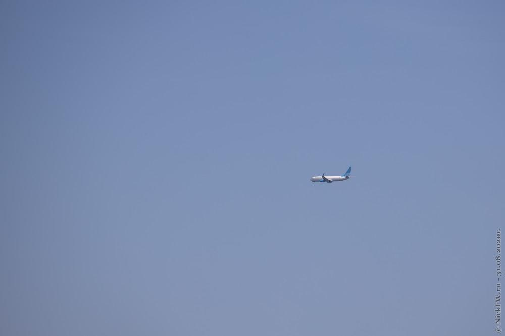 5. Boeing 737-800 - АК Победа © NickFW.ru - 31.08.2020г.