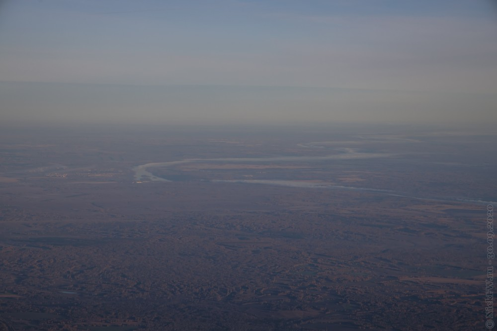 9. Вид на Кемеровскую область из иллюминатора © NickFW.ru - 30.10.2020г.