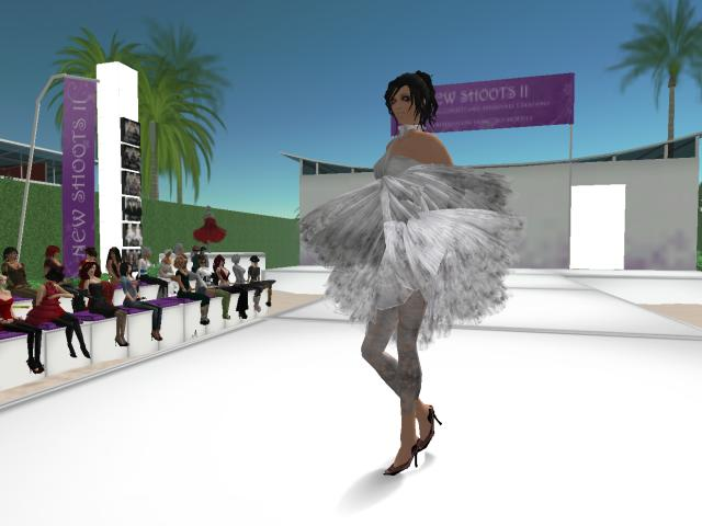 My First Fashion Show in SL--this is from Ghost
