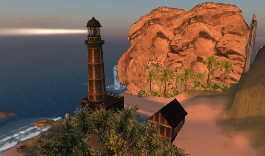 Lighthouse van Gogh sim