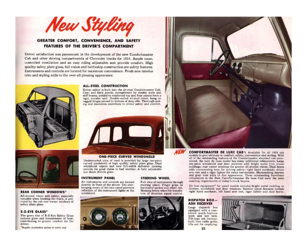 1954 Chevrolet Advance-Design Trucks. For Loads of Value - 1953_Страница_33