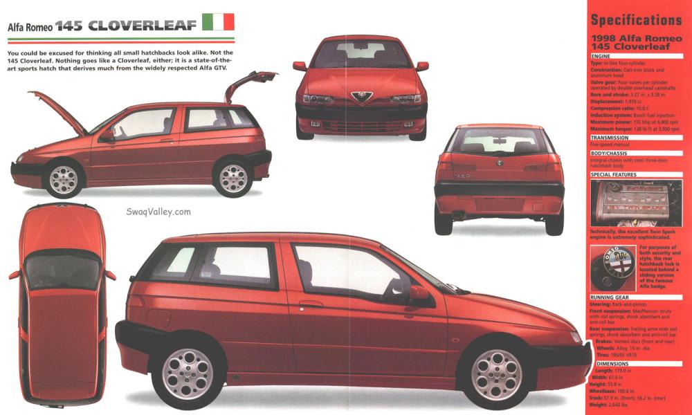 1998_Alfa_Romeo_145_Cloverleaf