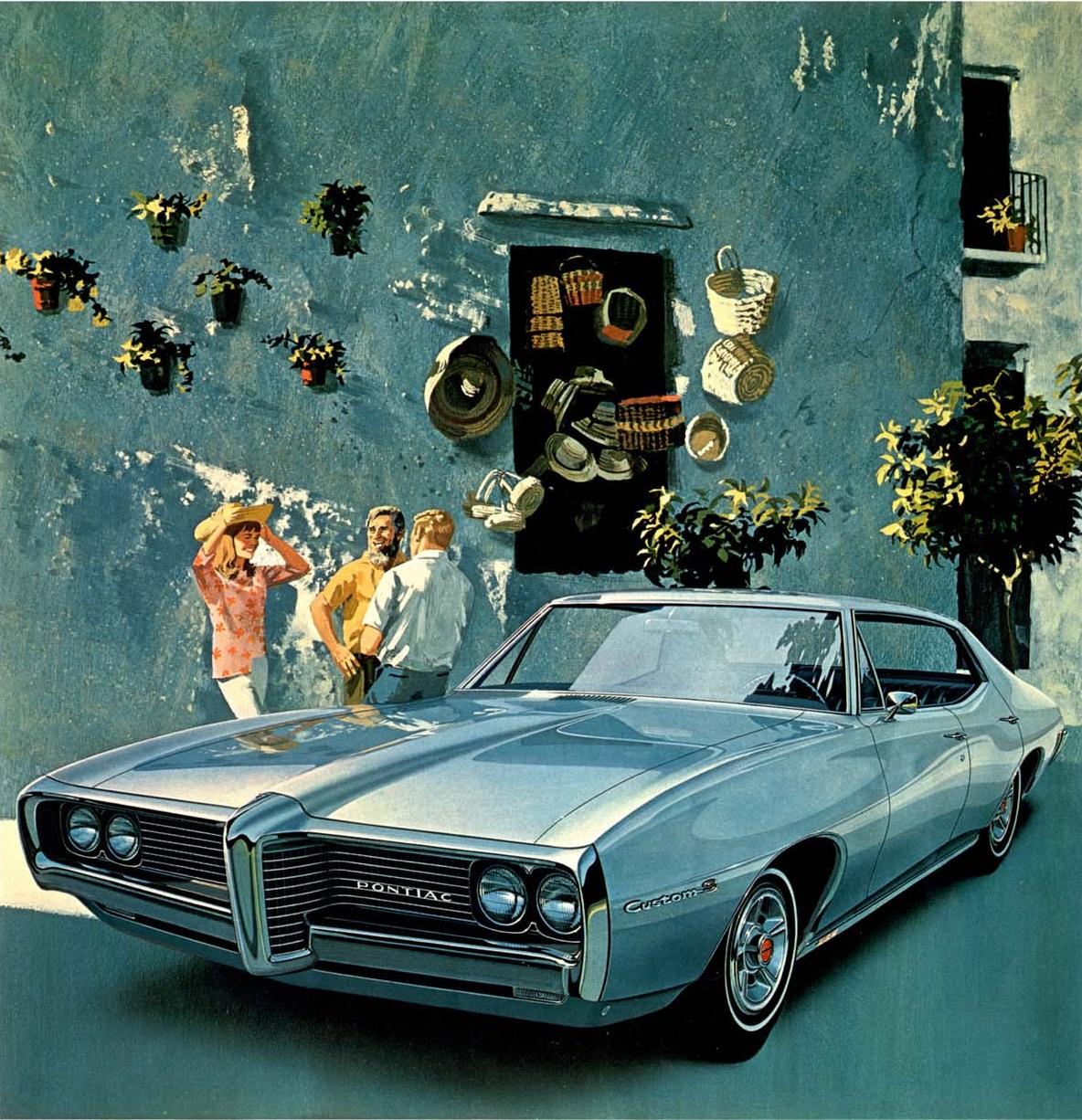 1969 Custom S 4-door Hardtop