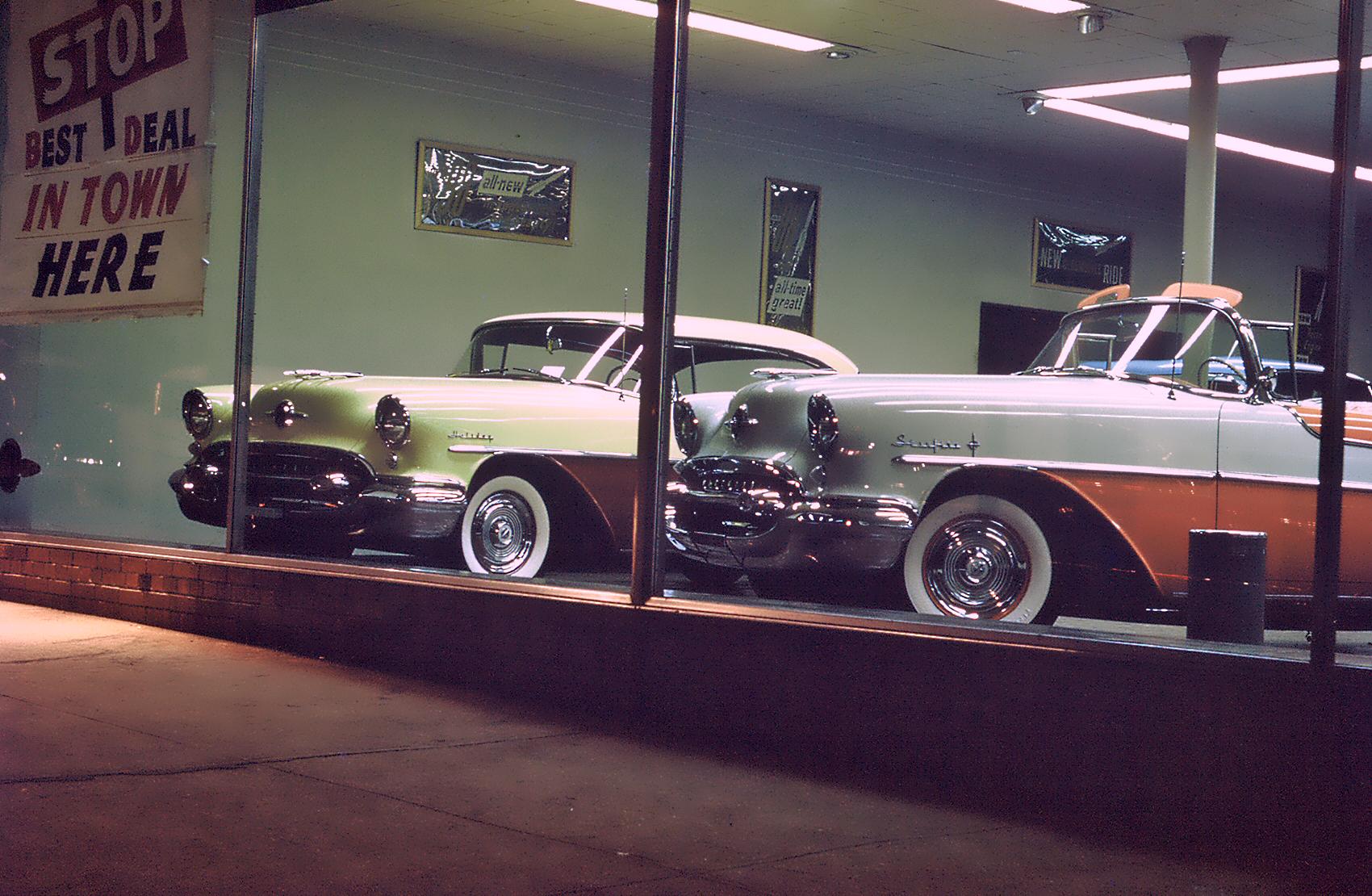 Oldsmobile Showroom 1955
