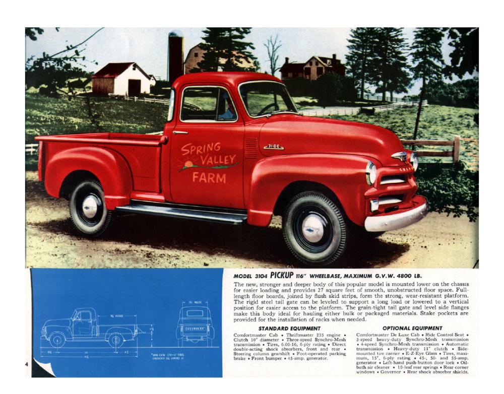 1954 Chevrolet Advance-Design Trucks. For Loads of Value - 1953_Страница_04