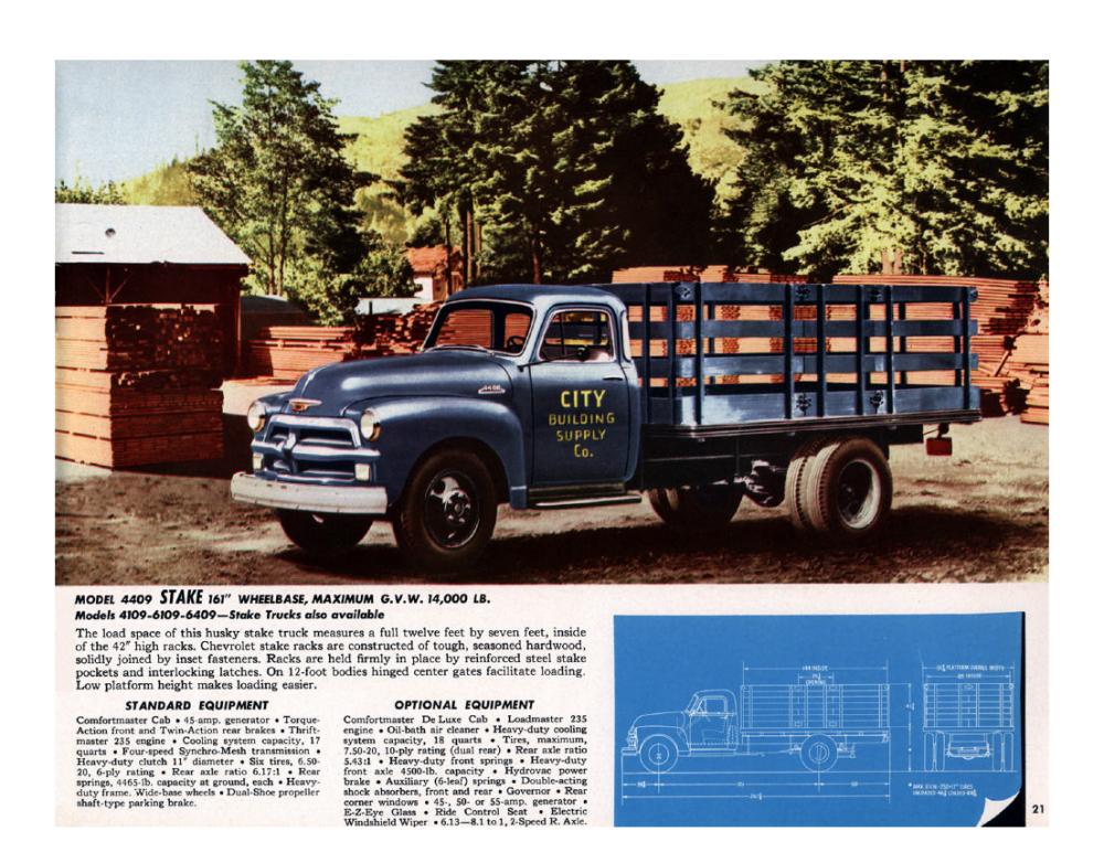 1954 Chevrolet Advance-Design Trucks. For Loads of Value - 1953_Страница_21