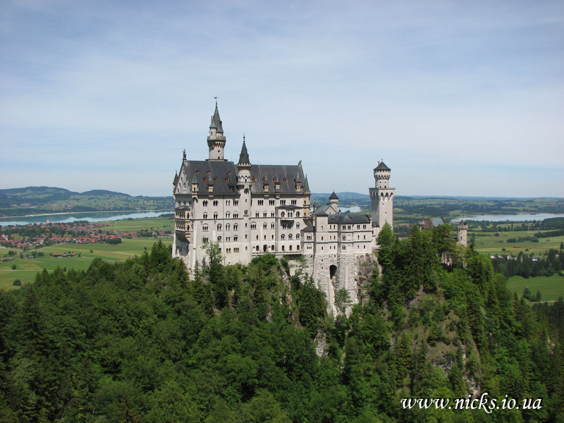 Замок Нойшванштайн (Neuschwanstein Castle)