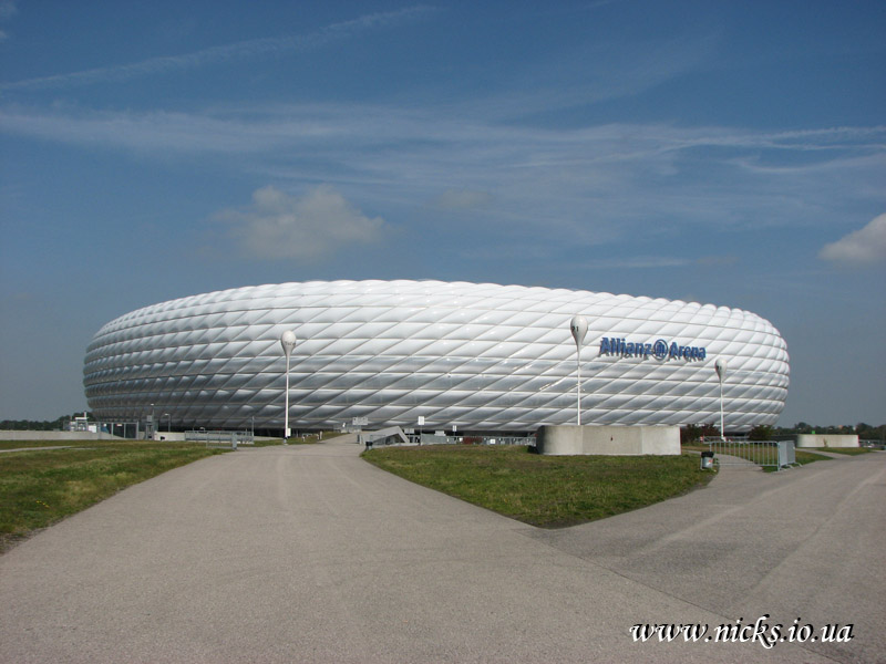 Мюнхен, Альянц Арена (Munich, Allianz Arena)