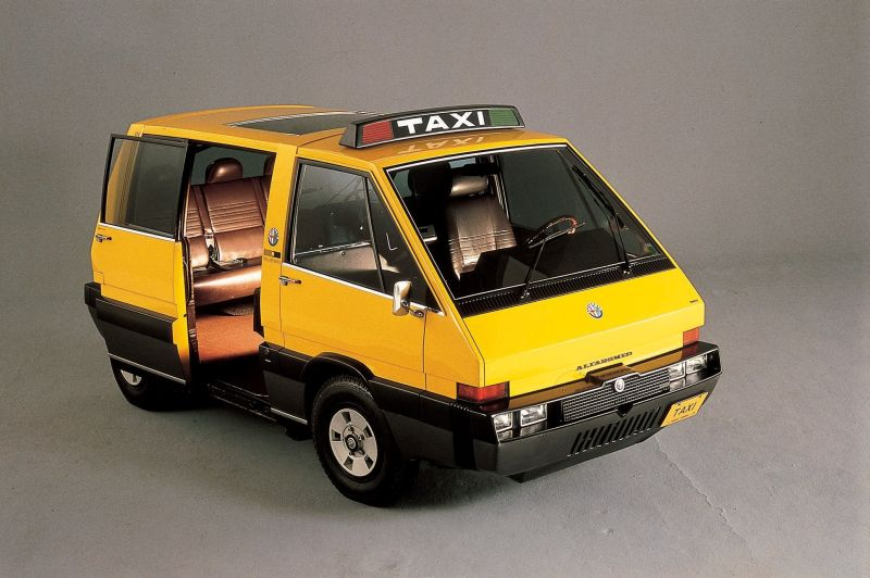 Alfa-Romeo New-York Taxi