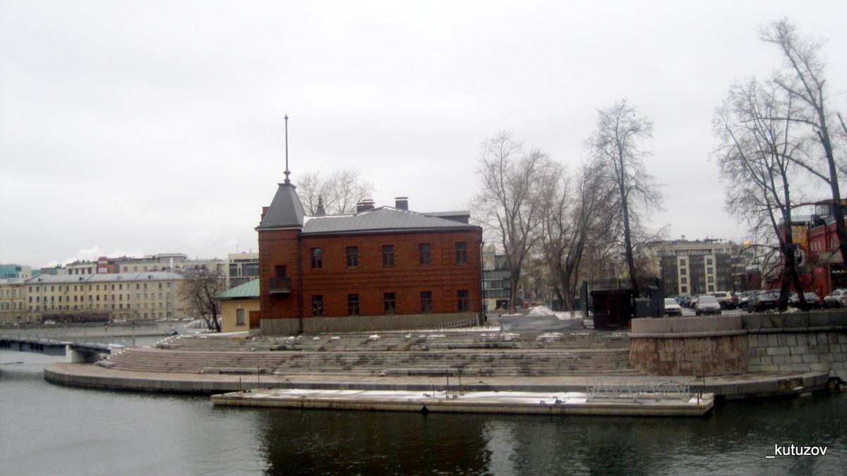Москва-река-берег