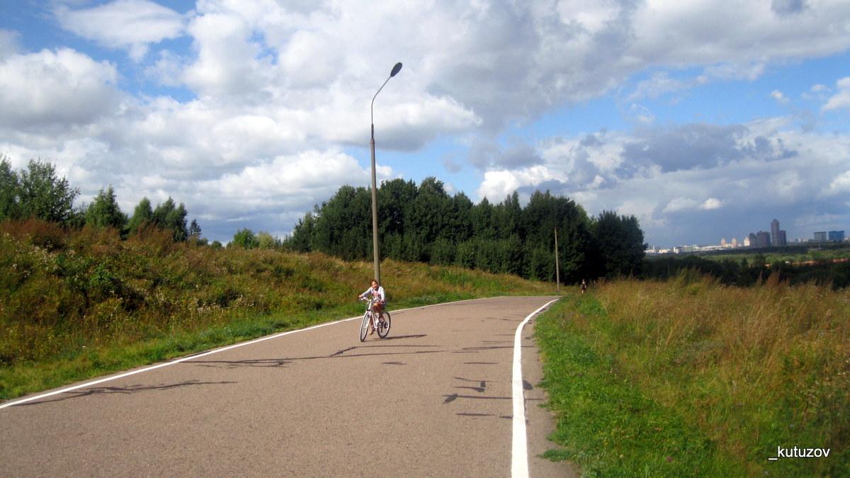 Холмы-велодорожка