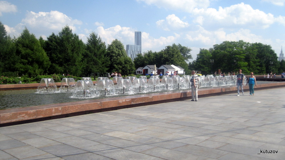Поклон-фонтан