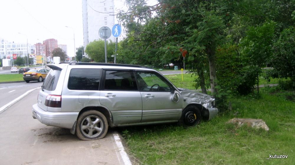 Машина-разбита