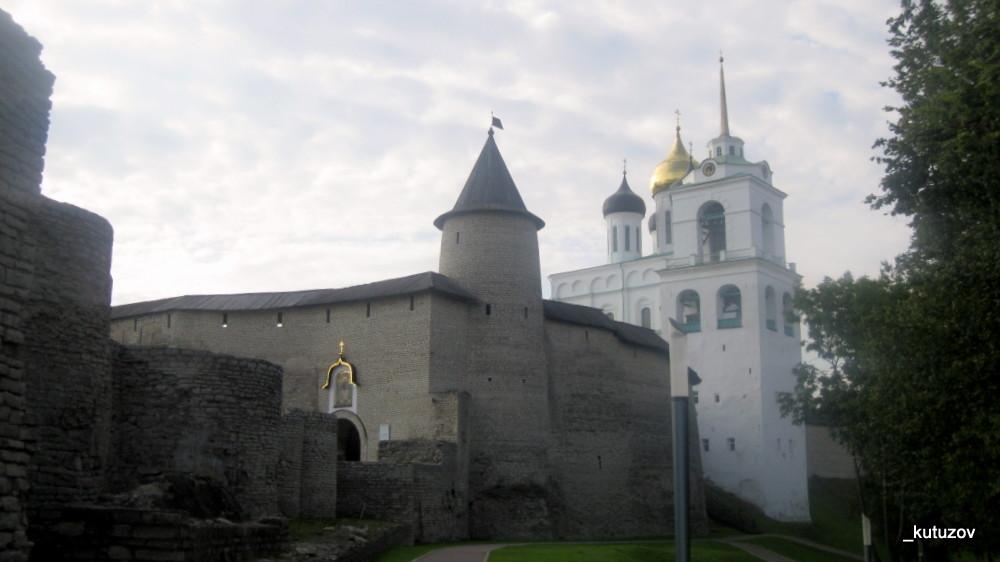 Псков-башня-собор