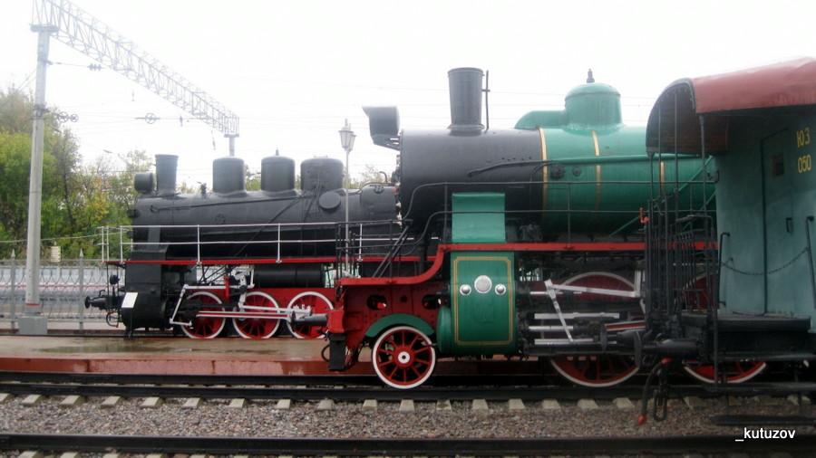 Жд-паровозы