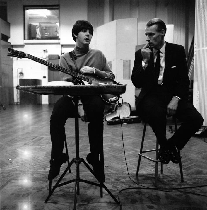 Paul McCartney George Martin