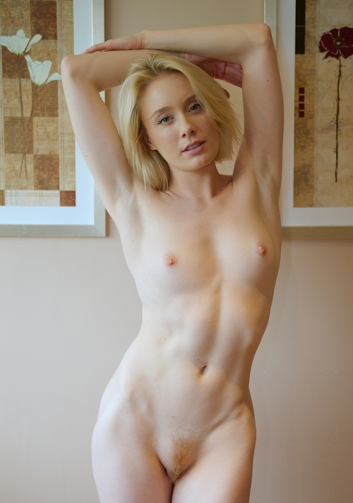 Naked blonde hairy girls rather grateful