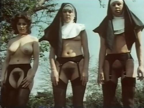 Hairy nun pussy