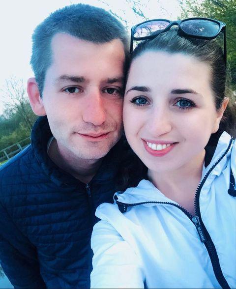 Լիլիթ Սանդերսը ամուսնու հետ