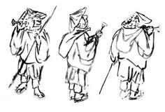 Chikusai (preliminary sketches)