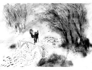 Sketch of the final scene