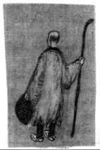 Basho from the back (character for the film)