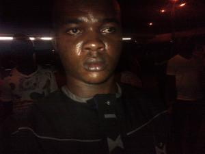 Кеннет в аэропорту Лагоса