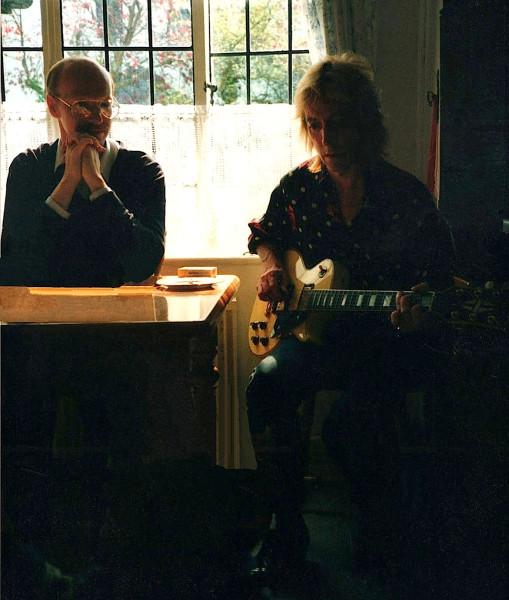 Кевин Канн и Мик Ронсон в 1991-м