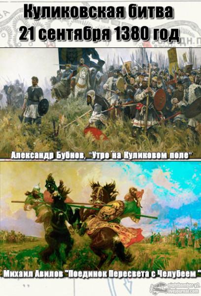 Коротко о Куликовской битве
