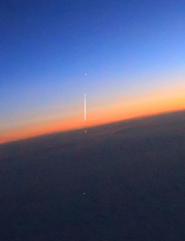 метеор в стратосфере