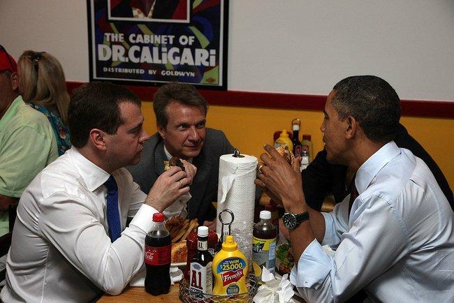 Президентский обед