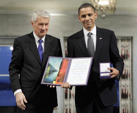 Обама и премия