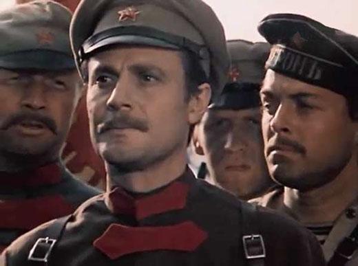 Это Телегин. Он инженер и красный командир