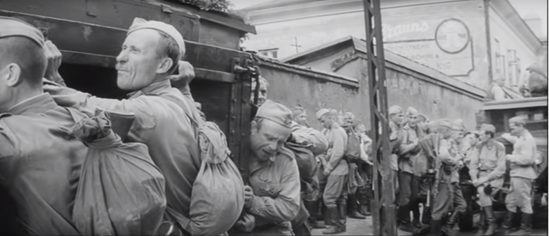"""Проверка на дорогах"" Алексей Герман 1971 год"
