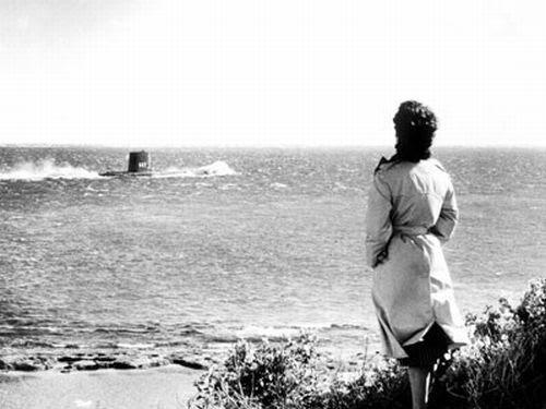"""Кадр из фильма """"На берегу"""" 1959 года"""