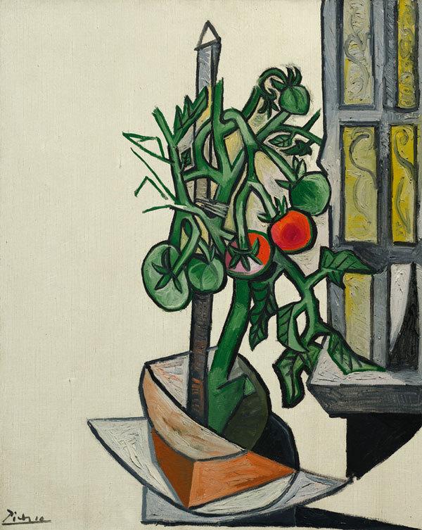 Помидоры на окне от Пабло Пикассо считают символом надежды и победы во второй мировой войне