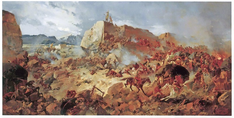 Каразин Н.Н. Ахал-Текинская экспедиция 1881 года. Штурм Геок-Тепе. 1889