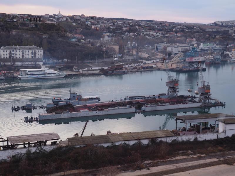 Фото А.Бричевского с сайта Краснознамённый Черноморский флот