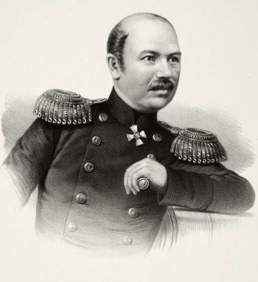 Владимир Иванович Истомин, русский адмирал